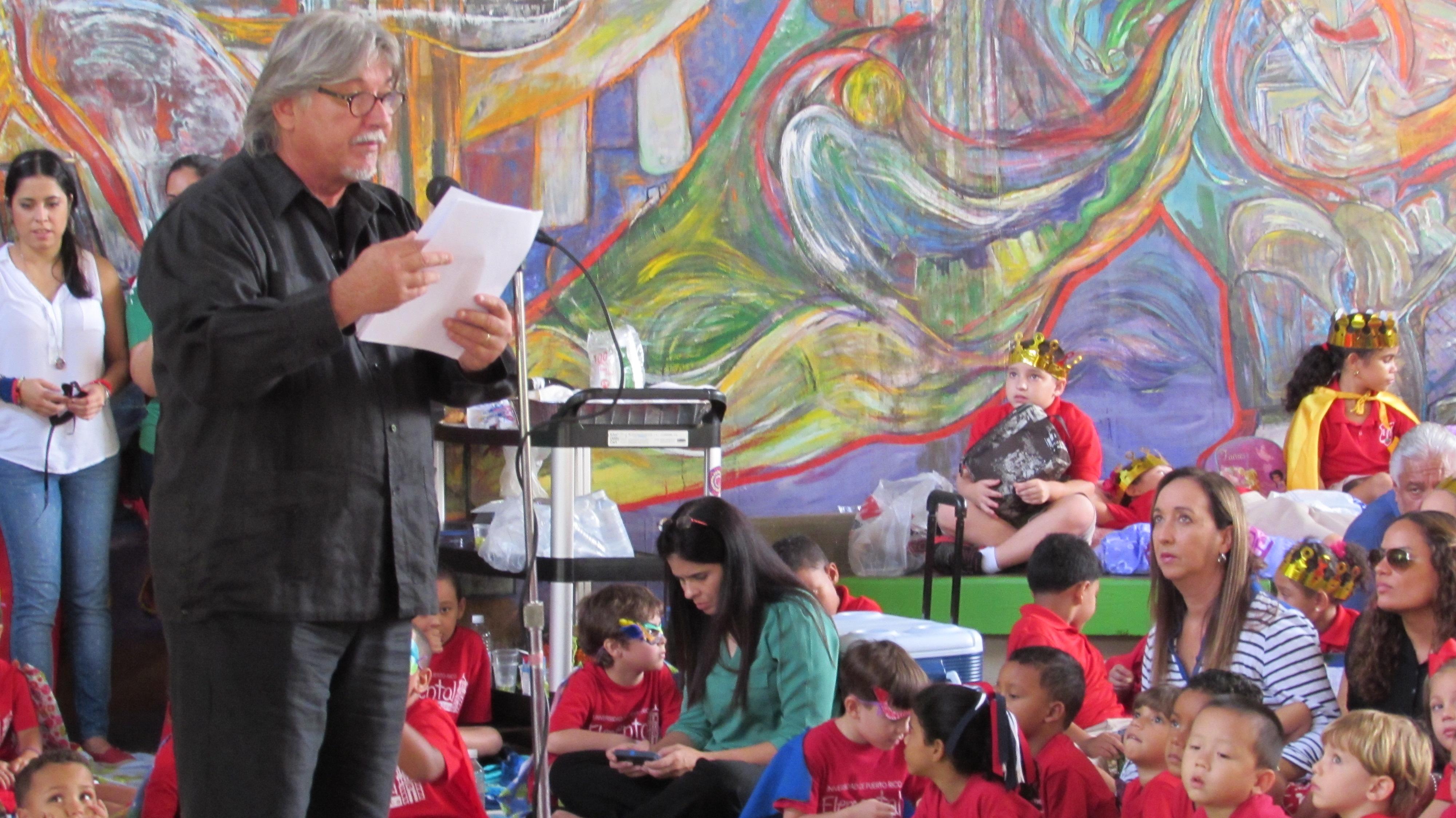 Luis Oliva en la Universidad de Puerto Rico, Río Piedras