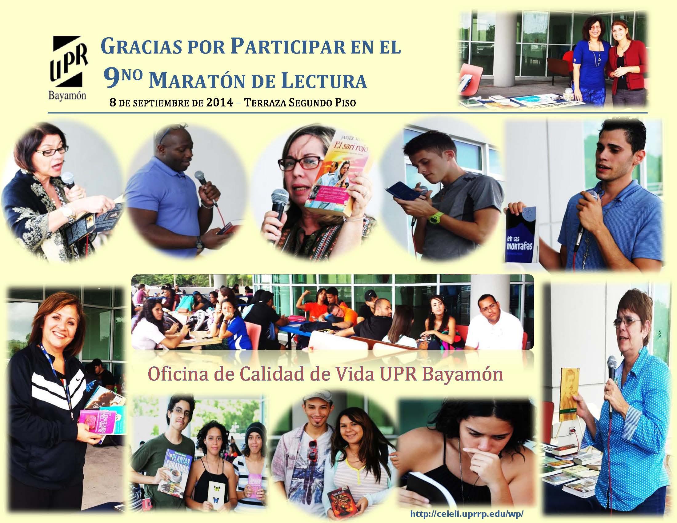 9no Maratón de Lectura UPR-B