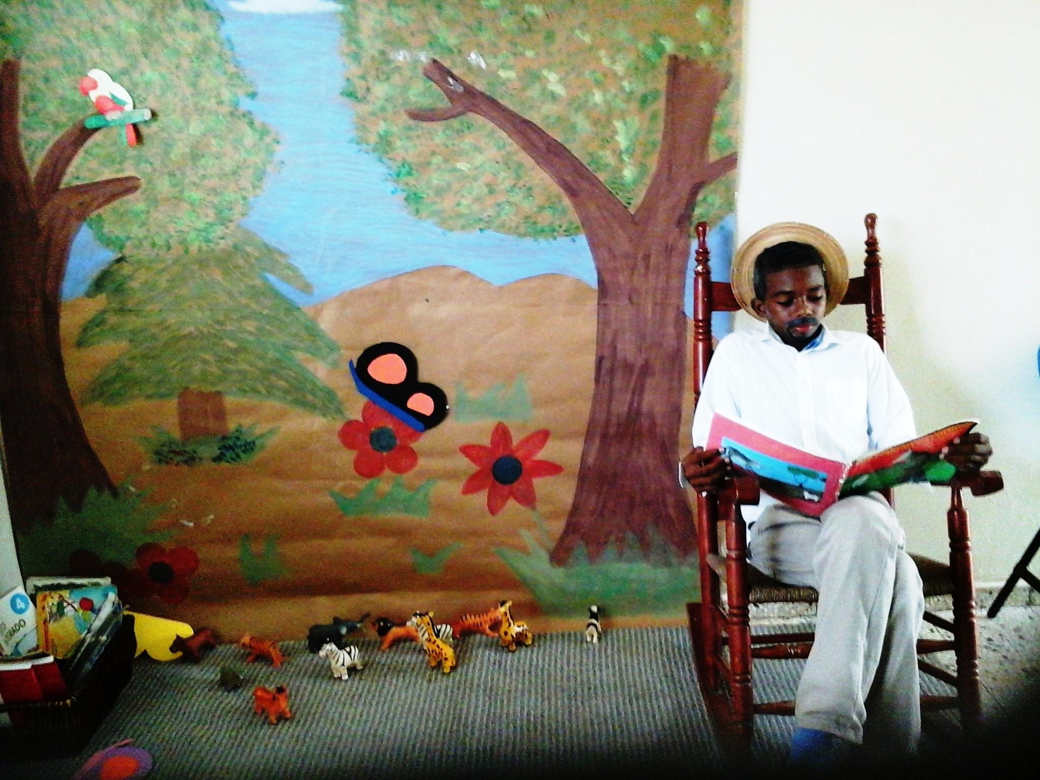 Fotos dia de la alfabetizacion Maraton lectura República Dominicana